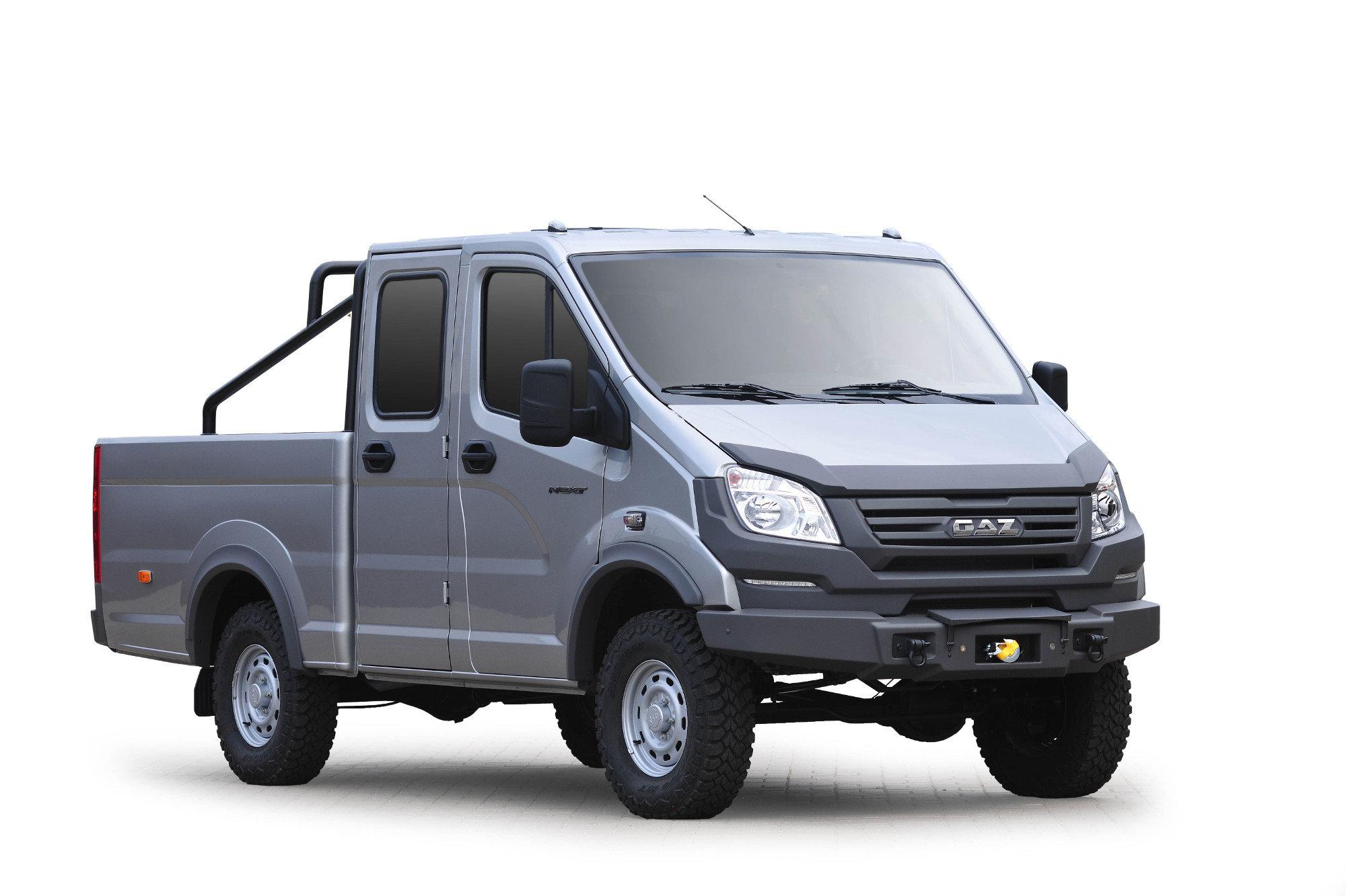ГАЗ представил прототипы новых «Соболей» 4x4, которые могут занять нишу «Буханки»