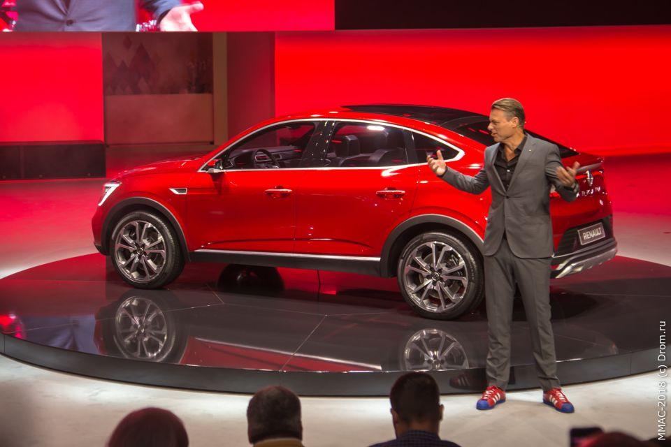 Лоренс ван ден Акер (Laurens van den Acker), старший вице-президент по корпоративному дизайну Группы Renault