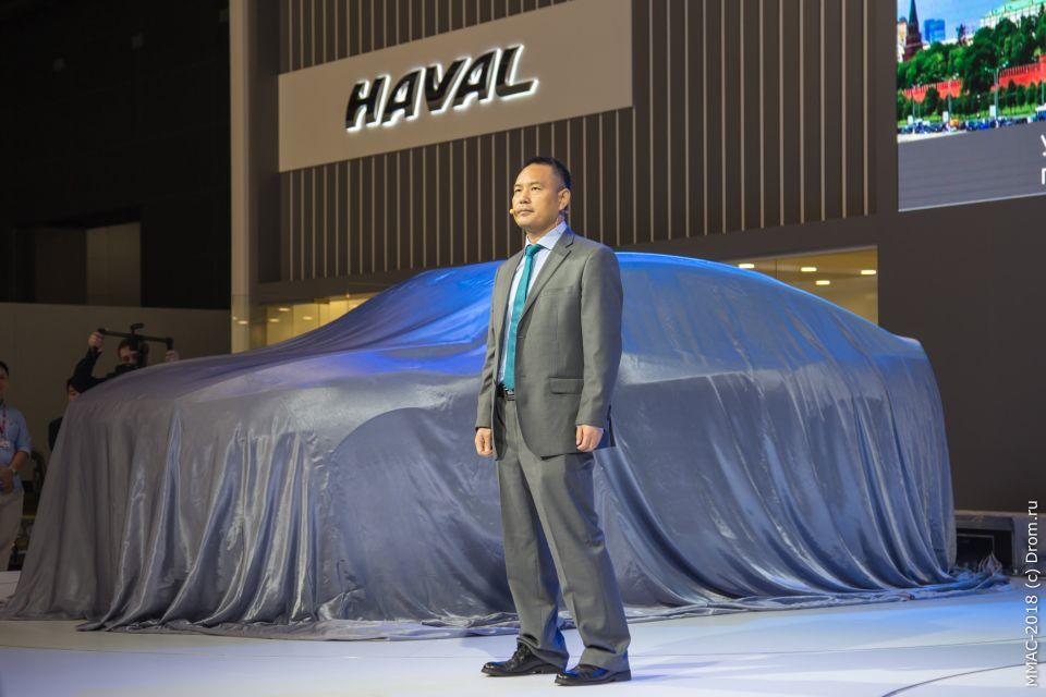 Стивен Ван, генеральный директор по развитию международного бизнеса компании Great Wall Hover