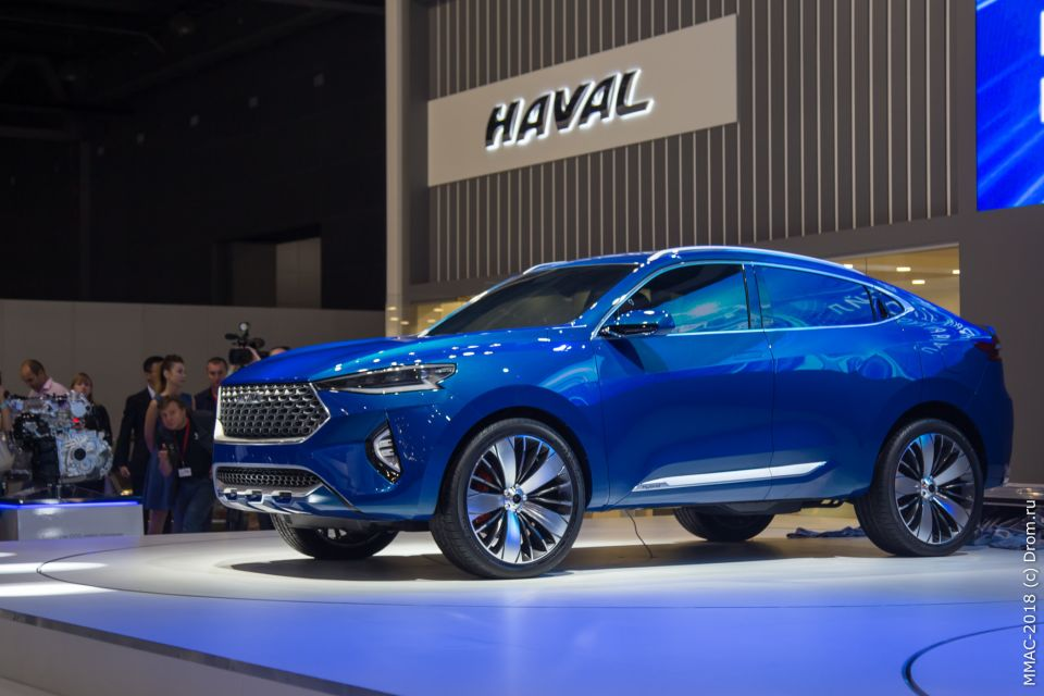 Этот авто показывает направление развития дизайна марки Haval
