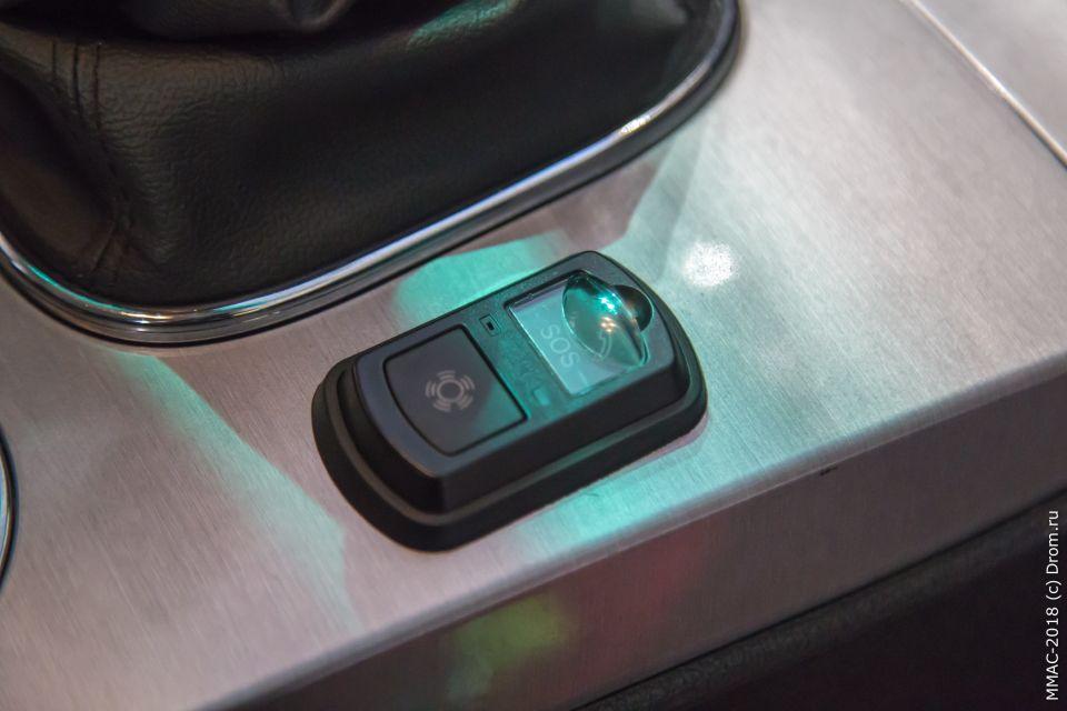 Кнопка ЭРА-ГЛОНАСС такая же, как в ввозимых в частном порядке подержанных иномарках