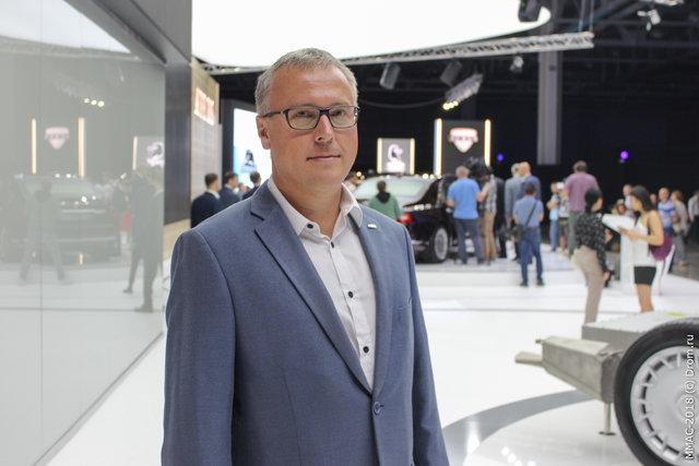 Юрий Черненко, главный дизайнер проекта ЕМП