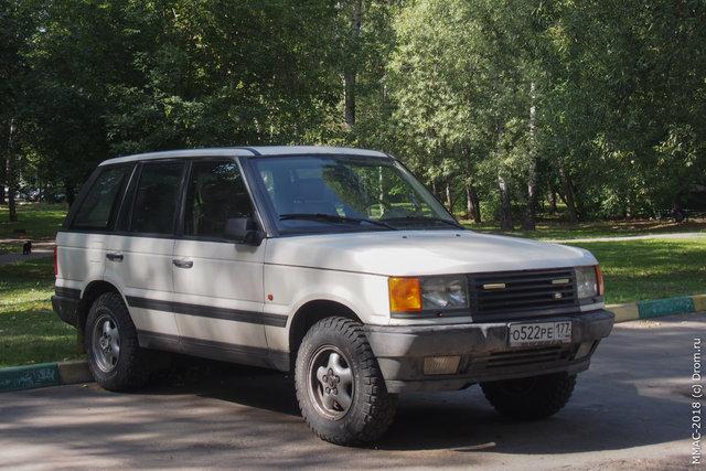 11. Какой-то Land Rover