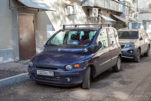 43. Самый красивый авто в мире: Фиат Мультипла