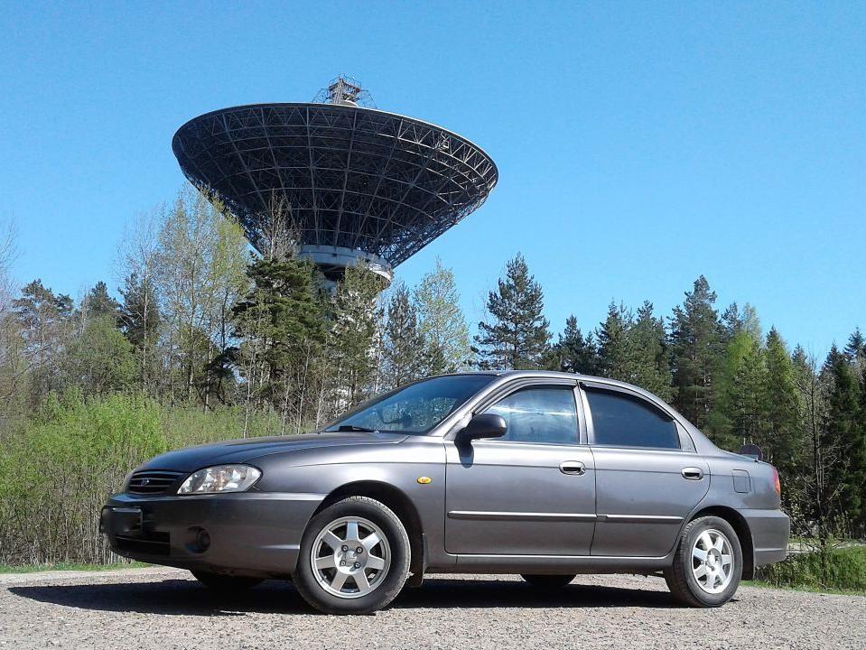 Радиотелескоп, расположенный в окрестностях города Калязин.