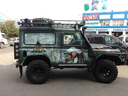 Land Rover Defender 2008 - отзыв владельца