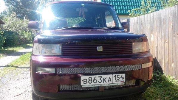 Toyota bB 2000 - отзыв владельца