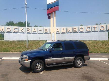 Chevrolet Tahoe 2000 - отзыв владельца