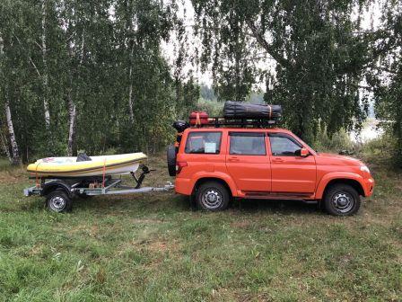 УАЗ Патриот 2018 - отзыв владельца