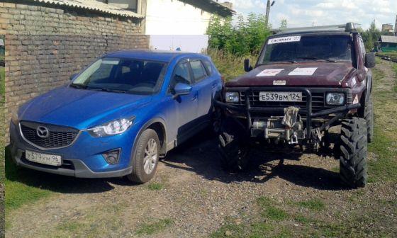 Mazda CX-5 2011 - отзыв владельца
