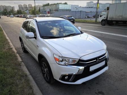 Mitsubishi ASX 2018 - отзыв владельца