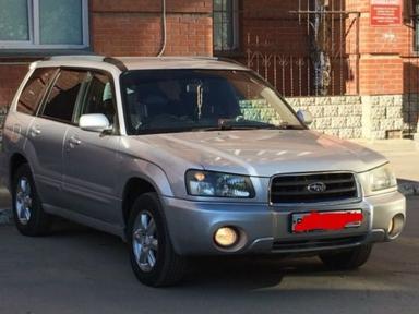 Subaru Forester 2002 отзыв автора | Дата публикации 15.08.2018.