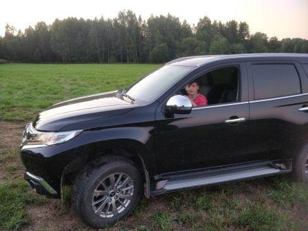 Mitsubishi Pajero Sport 2018 - отзыв владельца