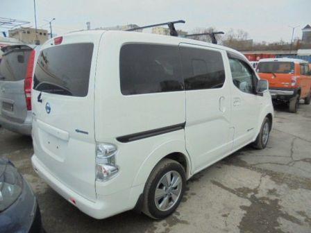 Nissan e-NV200 2014 - отзыв владельца