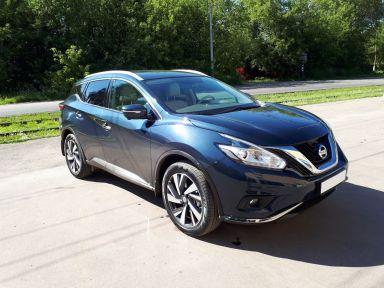Nissan Murano 2017 отзыв автора | Дата публикации 19.08.2018.