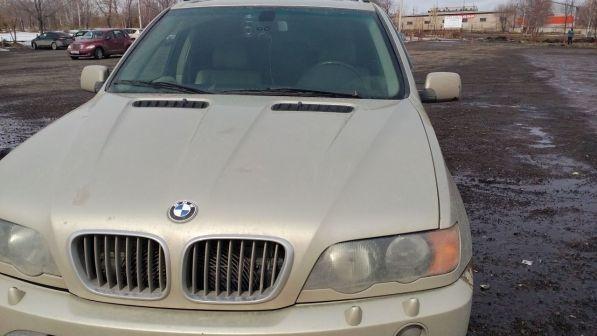 BMW X5 2003 - отзыв владельца