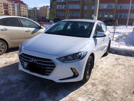 Hyundai Elantra 2018 - отзыв владельца