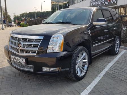 Cadillac Escalade 2013 - отзыв владельца