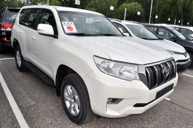 Toyota Land Cruiser Prado, 2018 год, 2 709 000 руб.