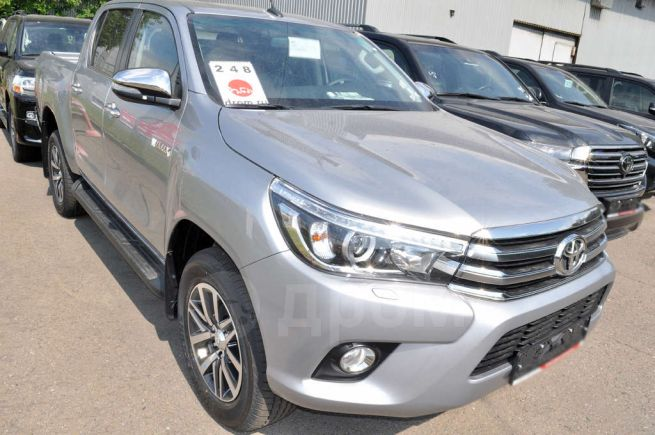Toyota Hilux Pick Up, 2018 год, 2 795 550 руб.