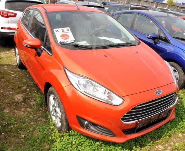 Ford Fiesta, 2017 год, 1 021 000 руб.
