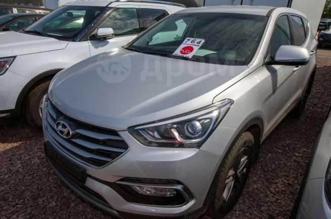 Hyundai Santa Fe, 2018 год, 2 131 100 руб.