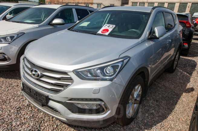Hyundai Santa Fe, 2018 год, 2 474 000 руб.