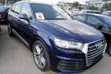 Audi Q7. СИНИЙ, МЕТАЛЛИК (NAVARRA BLUE)