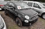 Fiat 500. ЧЁРНЫЙ МЕТАЛЛИК (NERO PROVOCATORE/CROSSOVER BLACK) (876)