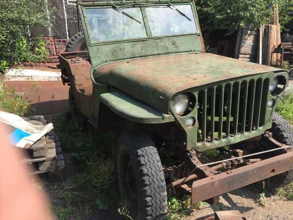 Jeep Jeep, 1943 год, 300 000 руб.