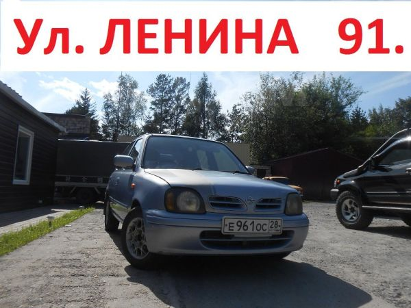 Nissan March, 2001 год, 127 777 руб.