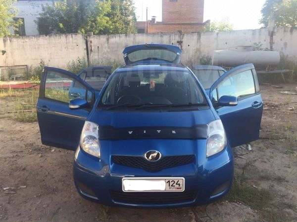 Toyota Vitz, 2008 год, 375 000 руб.