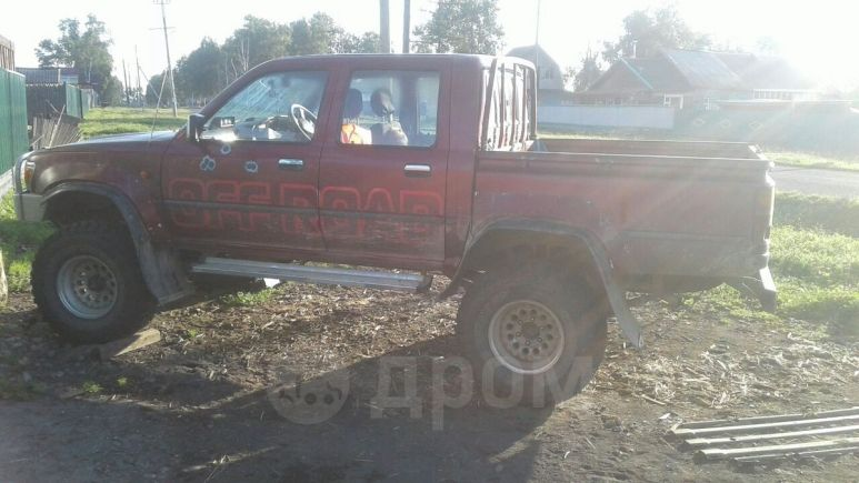 Toyota Hilux Pick Up, 1989 год, 600 000 руб.