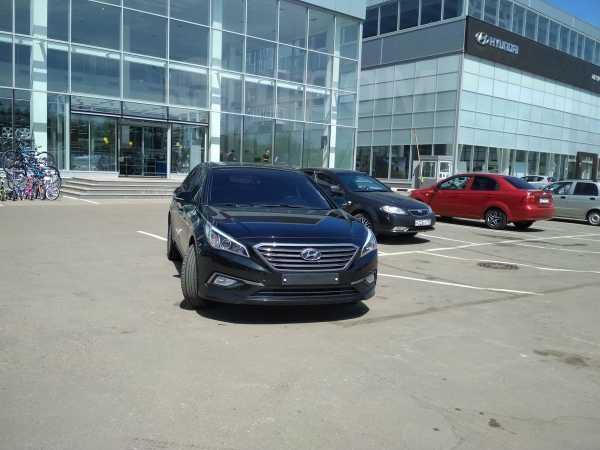 Hyundai Sonata, 2015 год, 1 190 000 руб.