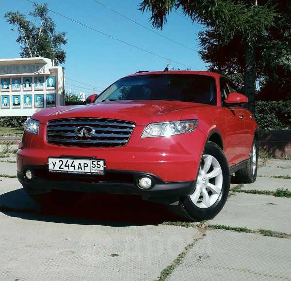 Infiniti FX35, 2004 год, 585 000 руб.