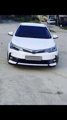 Нягань Corolla 2016