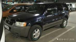 Ford Escape, 2002 г., Новосибирск