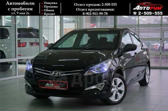 Hyundai Solaris, 2016 год, 593 000 руб.