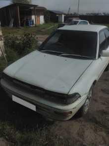 Петровск-Забайкал... Corolla 1988