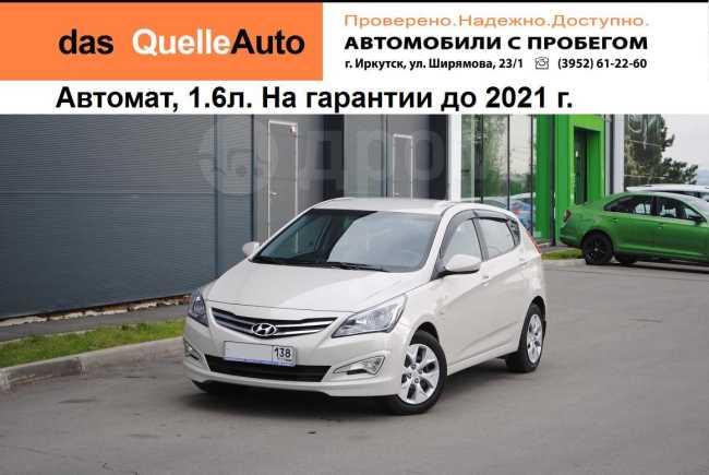 Hyundai Solaris, 2016 год, 633 000 руб.