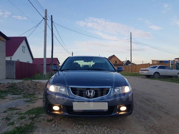 Honda Accord, 2004 год, 495 000 руб.