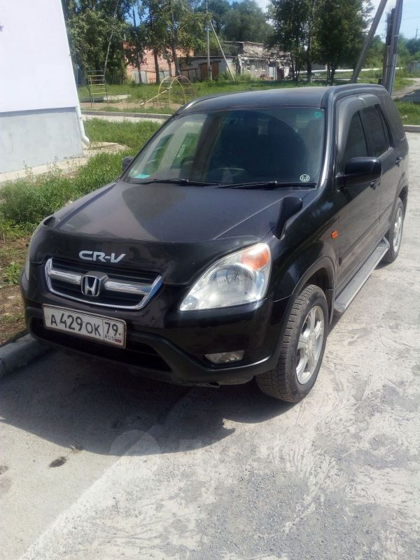 Honda CR-V, 2001 год, 490 000 руб.