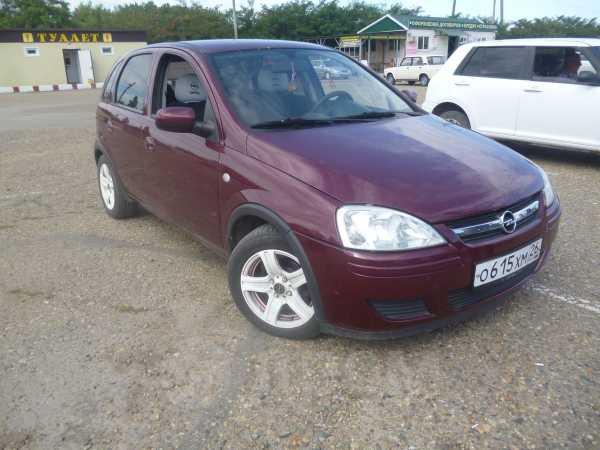 Opel Corsa, 2003 год, 215 000 руб.
