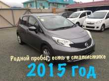 Nissan Note, 2015 г., Владивосток