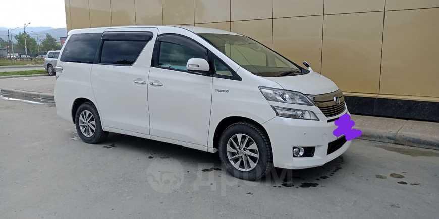 Toyota Vellfire, 2012 год, 1 600 000 руб.