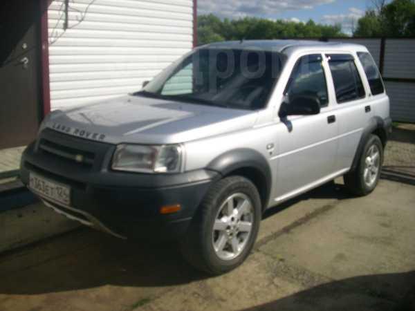 Land Rover Freelander, 2002 год, 385 000 руб.