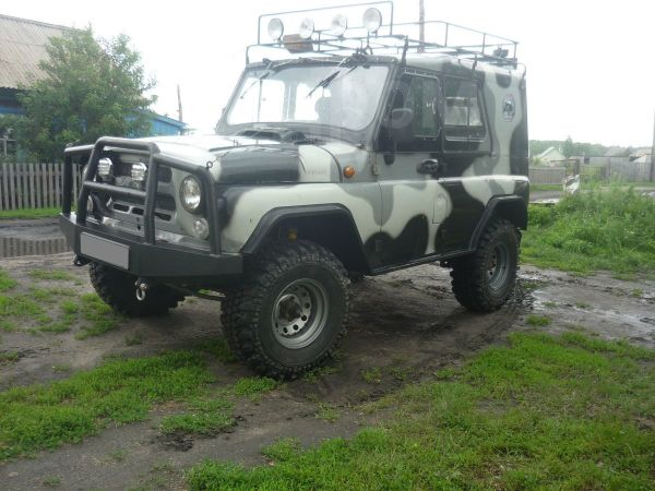 УАЗ 469, 1983 год, 195 000 руб.