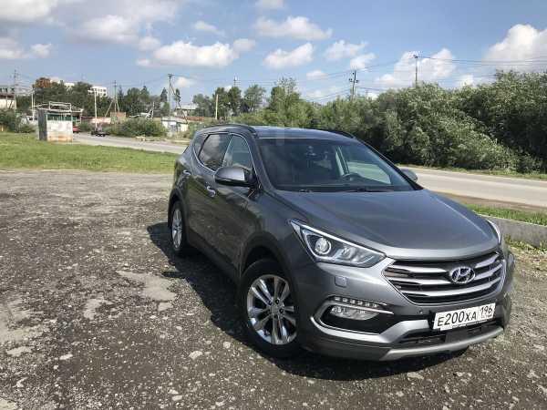 Hyundai Santa Fe, 2017 год, 1 730 000 руб.