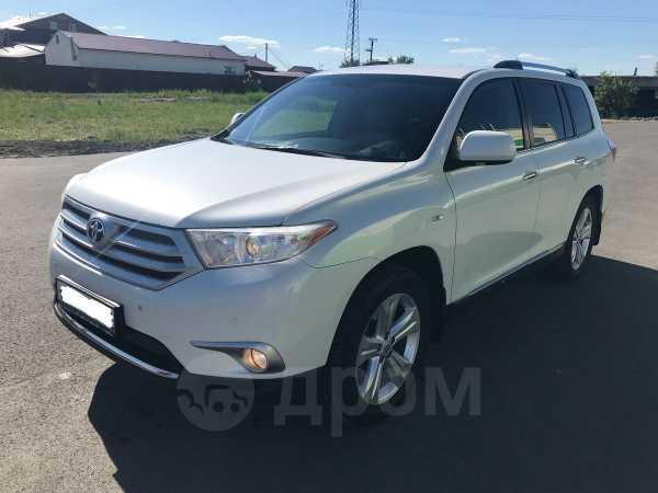 Toyota Highlander, 2012 год, 1 480 000 руб.