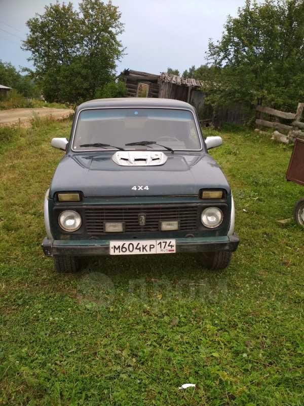Лада 4x4 2121 Нива, 2000 год, 75 000 руб.
